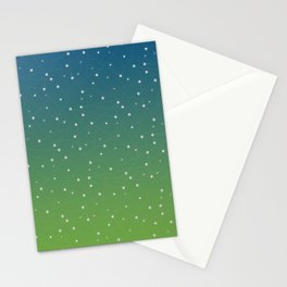 Constellations (Green) Stationery Cards
