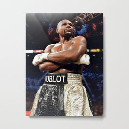 Floyd Mayweather Wall Art Print Photo Print Poster Picture Boxing, Metal Print