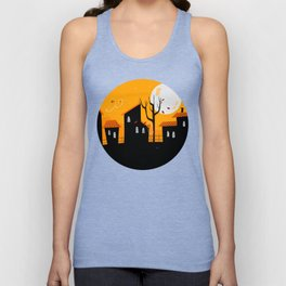 A Haunting We Will Go Unisex Tank Top