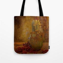 Disassembled pumpkin Tote Bag