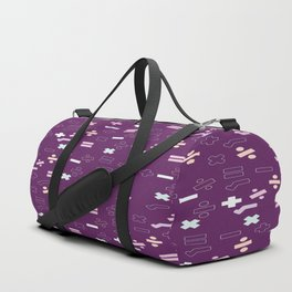 Maths Symbols Duffle Bag