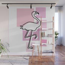 flamingo go Wall Mural