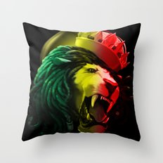 Warrior Of Dignity  Throw Pillow