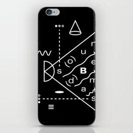 Soundbeams iPhone Skin