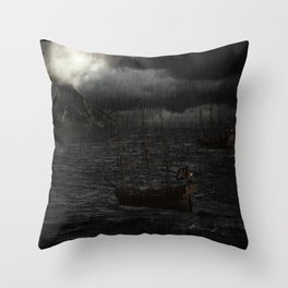 """Calm Waters""  Throw Pillow"