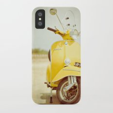 Mod Style in Yellow Slim Case iPhone X