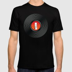 Off the Record MEDIUM Black Mens Fitted Tee