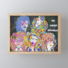 We Stand Together Framed Mini Art Print