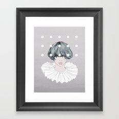 Charlotte Framed Art Print