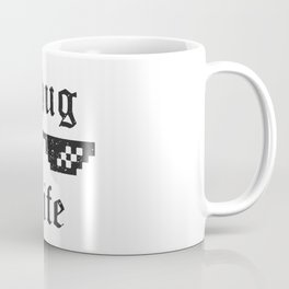 Thug life glasses print Coffee Mug