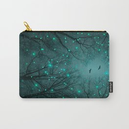 One by One, the Infinite Stars Blossomed Carry-All Pouch