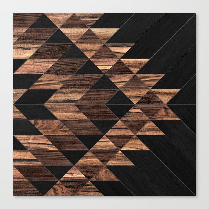 Urban Tribal Pattern No.11 - Aztec - Wood Leinwanddruck