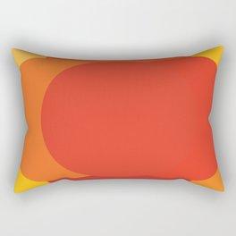 Sixties apple burst Rectangular Pillow