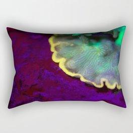 Fluorescent coral skirt Rectangular Pillow