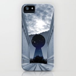 Keyhole to Infinity iPhone Case