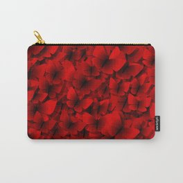 red butterflies Carry-All Pouch