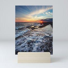 Waveswept Skies Mini Art Print