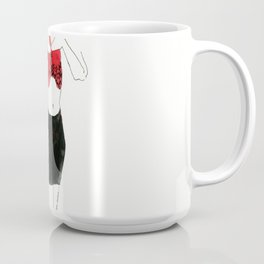With heart and skirt Coffee Mug