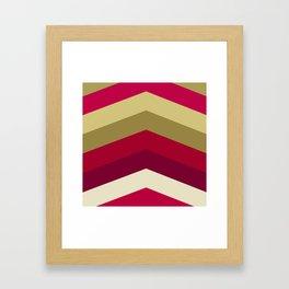 Cherry colors Framed Art Print