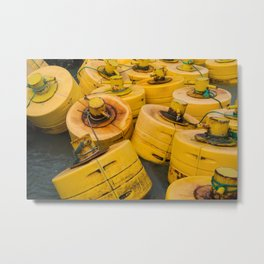 Yellow gathering Metal Print