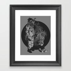 It Came from Inner Space Framed Art Print