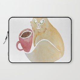 Coffee and Cats are my therapy Laptop Sleeve