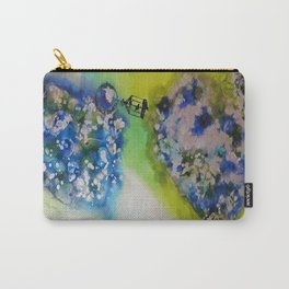 Lolona - Mixed Media Acrylic Abstract Modern Art, 2015 Carry-All Pouch