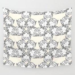 """series """"rostidade em mandala"""" - girl Wall Tapestry"""