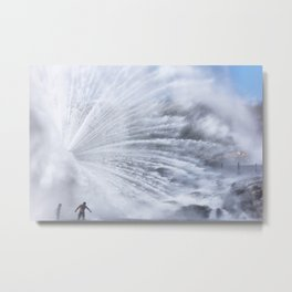 The big water pipe Metal Print