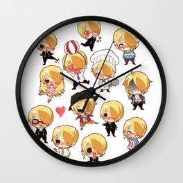 Sanji-kun Wall Clock