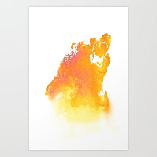 Hear me roar! Art Print