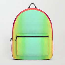 Psychedelic Hillside Backpack