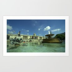 The National Gallery Art Print