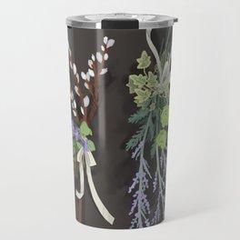 bouquets Travel Mug