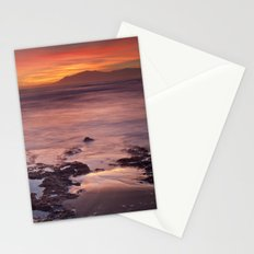 Reflections on the sand Stationery Cards