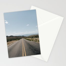 Open Road - Moapa Valley, NV Stationery Cards