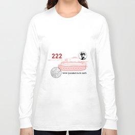 Michael Wittmann Panzer Ace 222 Villers Bocage White Long Sleeve T-shirt