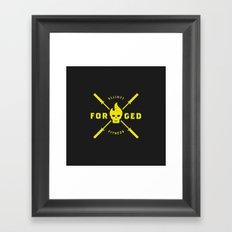 Forged Framed Art Print