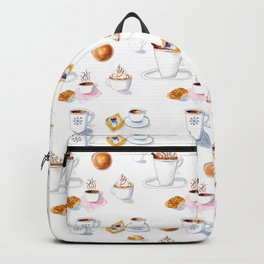 World Of Coffees And Pastries Backpack