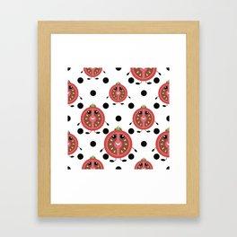 Mr. Tomato Framed Art Print