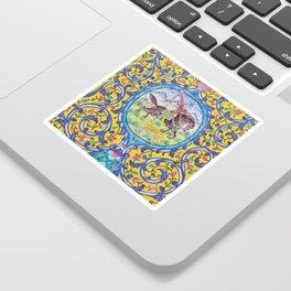 Iranian tiles Sticker