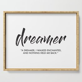 Dreamer Serving Tray