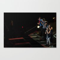1d Canvas Prints featuring 1D by Gunjan Marwah