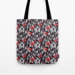 Red bird Tote Bag