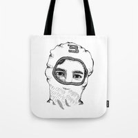 charlie Tote Bags featuring Charlie by Addison Karl