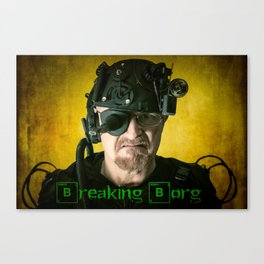 Breaking Borg Canvas Print