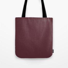 Pantone 19-1725 Tawny Port Tote Bag