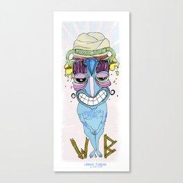 urban turban Canvas Print