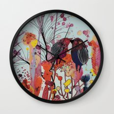 love-moi Wall Clock