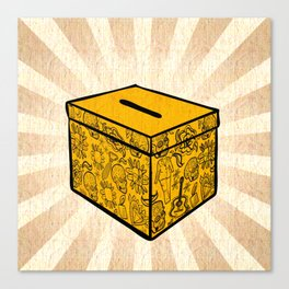 Ballot Box Canvas Print